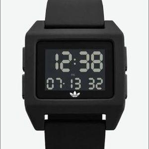 NEW black digital adidas watch, Archive SP1